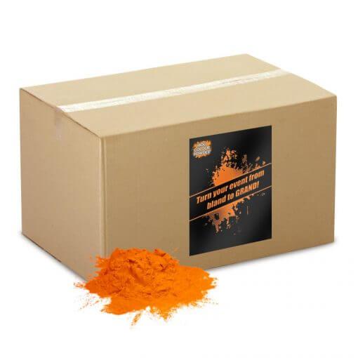 holi orange powder